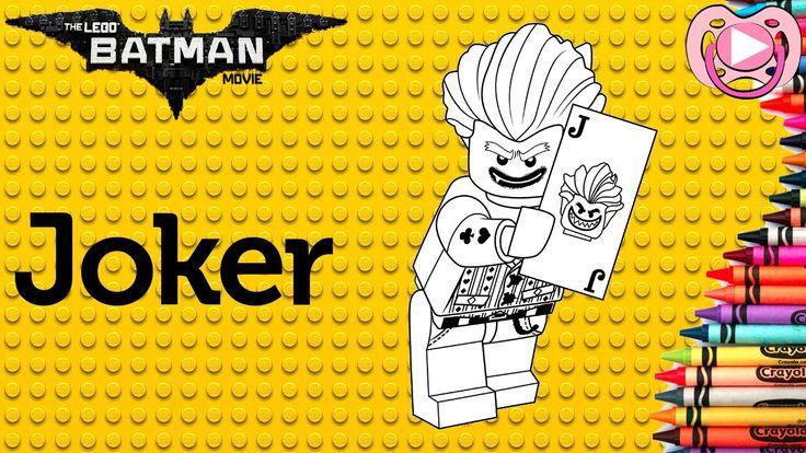 Lego Batman 2017 🦇 Colorir o Joker