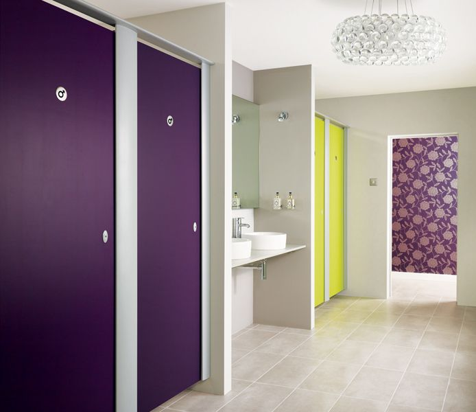 Toilet Cubicles | Washroom Ranges & Supplies | Venesta Cubicles