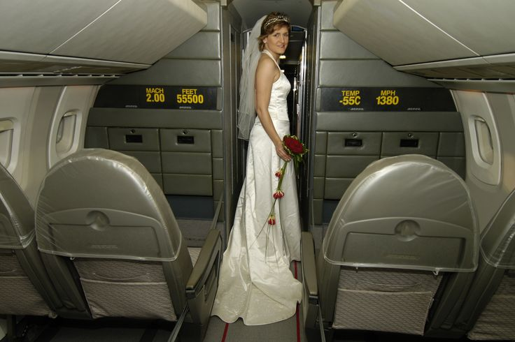 A Bride Celebrates At The National Museum Of Flight The