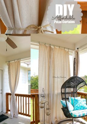 1000 Ideas About Patio Curtains On Pinterest Outdoor Curtains Front Porch