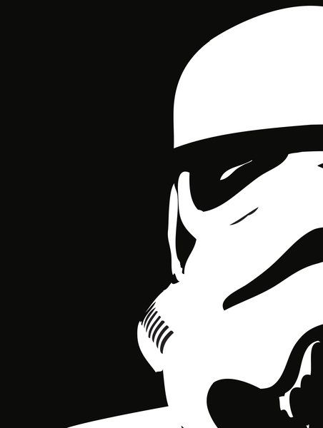 Minimalist Storm Trooper