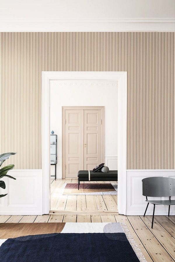 Colori pareti soggiorno: tinta unita opaca rosa   Design di ...