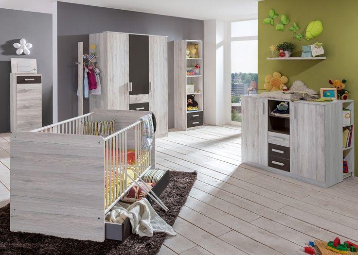 Inspirational Babyzimmer komplett Kinderzimmer Cariba Wei eiche und Lavafarbig Mit diesem Babyzimmer komplett vom Hersteller Wimex treffen Sie eine gute Wahl