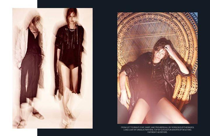 Cutcuutur for OZON Mag  Photos: Kostas Avgoulis Fashion Editor: Yiorgos D.Mesimeris