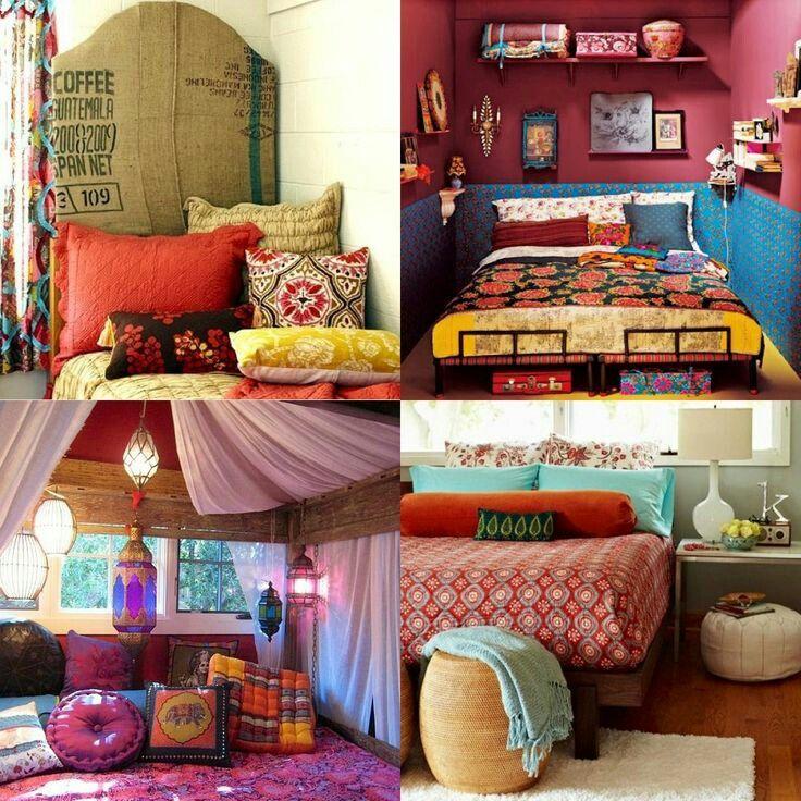 Cute boho bedroom ideas Indie bedroom, Boho room decor
