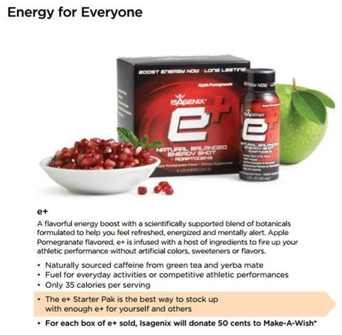 I have tried everything - 5hr energy. NOTHING compares to these!! TONS of ALL NATURAL ENERGY. No jitters!! www.meganmlarson.isagenix.com