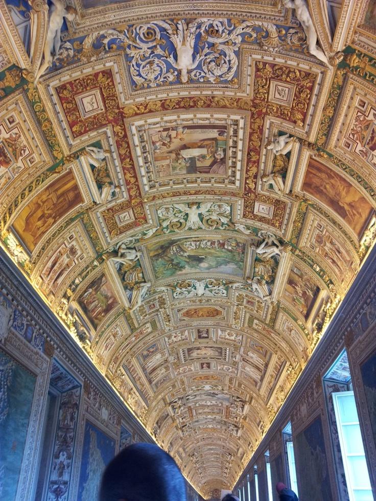 Roma-Musei Vaticani-Galleria degli arazzi