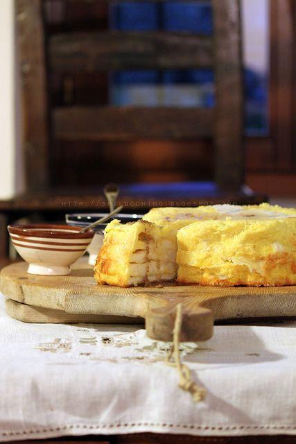 torta di pane e formaggio              #recipe #juliesoissons
