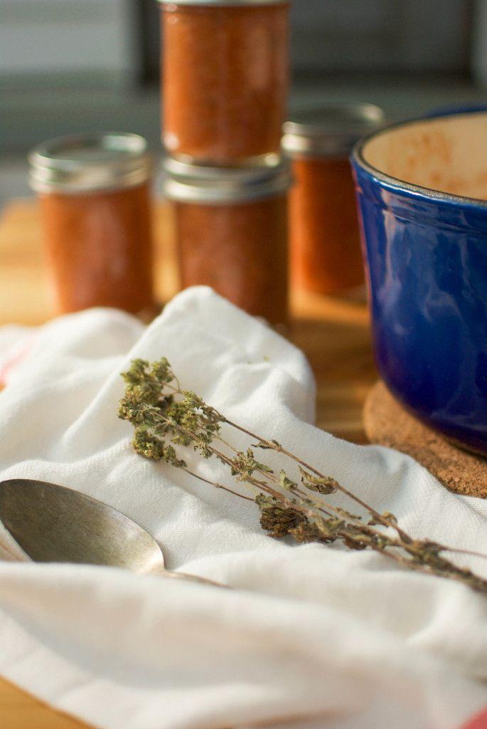 Une touche de miel | Papa al pomodoro | soupe de tomate et de pain | http://www.unetouchedemiel.com