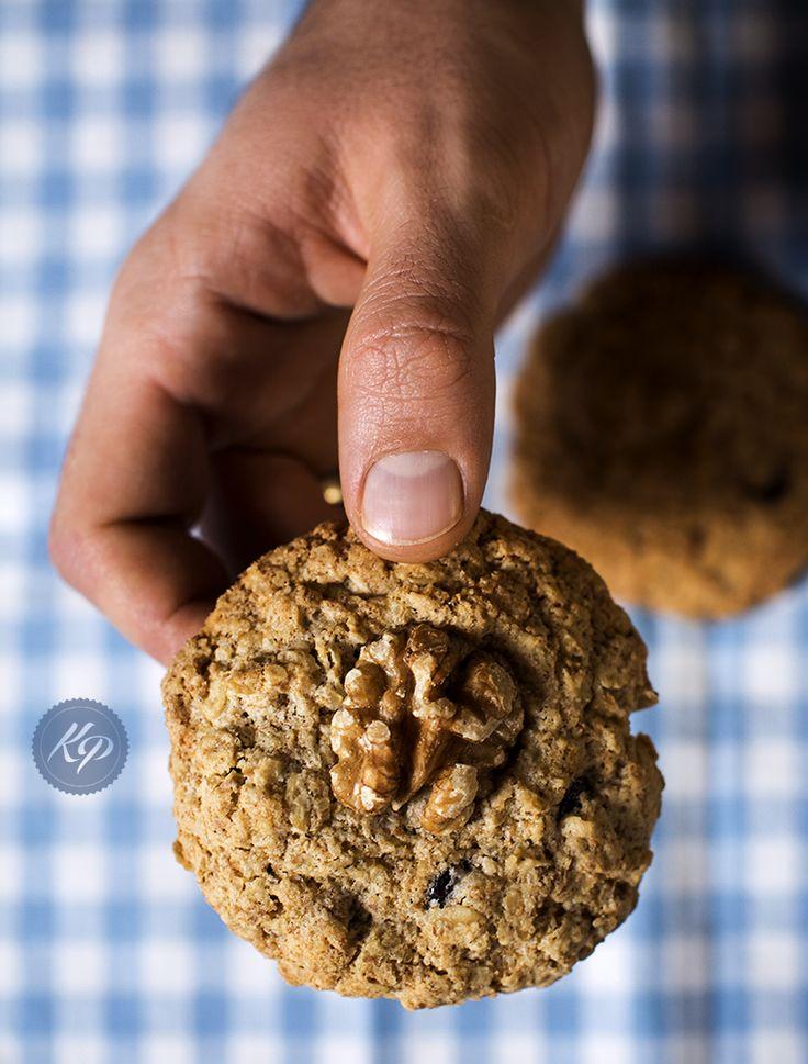 Najlepsze ciasteczka owsiane - The best #Oatmeal #Cookies http://kingaparuzel.pl/blog/?p=4535 #food #Foodporrn