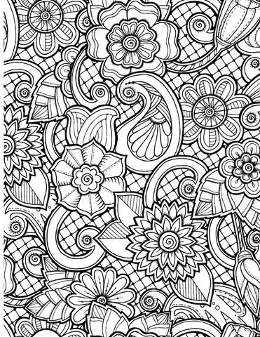 368 best flowers images on Pinterest | Coloring books, Colouring ...