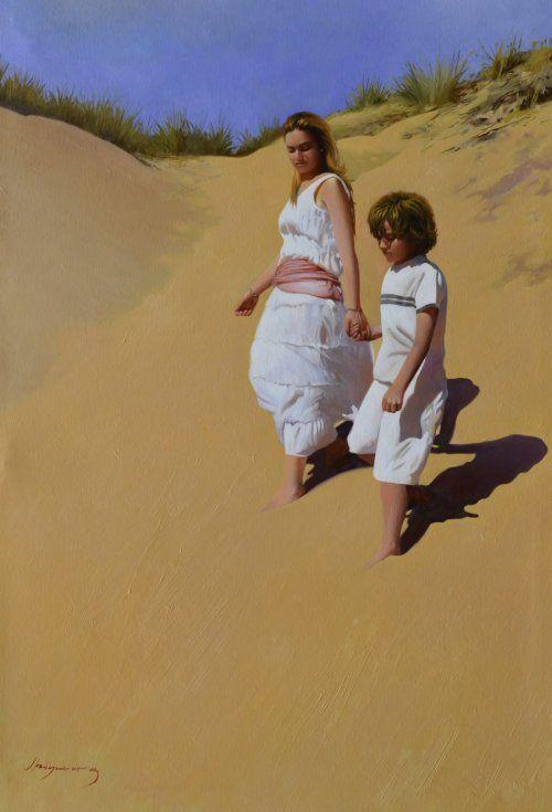 Paseo por las dunas Jose Higuera