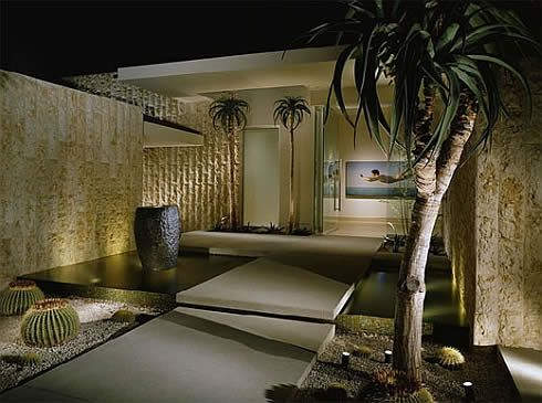 This mid century, ultra modern house is my absolute favorite style of home.  Desert landscaping is the best.