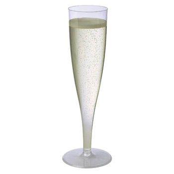 5 oz Sovereign Plastic Champagne Flutes ($11.19/10)