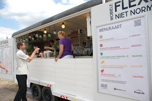 Menukaart tijdens festival de Beschaving in Utrecht. De meeste recepten zijn terug te vinden op onze site!  30 juni 2012