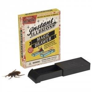 Ever want to make someone that's bugging you disappear? Get this insect to vanish right before your eyes with the Magic Drawer! $5.99 #magic #trick #magician