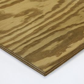 Severe Weather Non-Structural Rated Pine Plywood Sheathing (Actual: 0.7187-in)