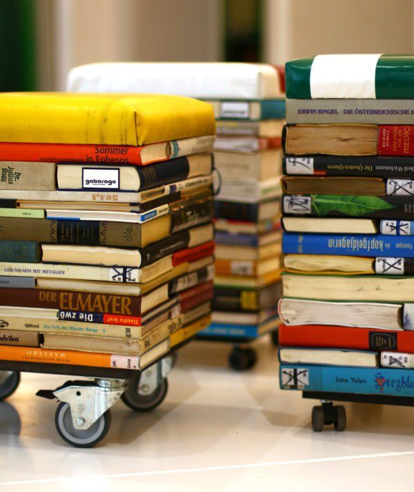 Book Furniture: 477 Best Images About Fun Things To Do With Old Books! On