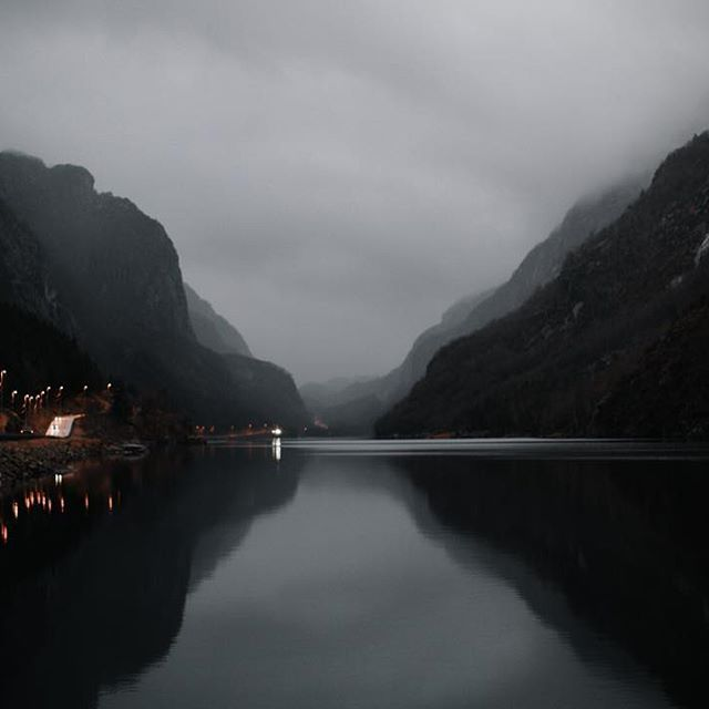 Sometimes you just have to stop the car to get out and take a picture and some sweet, deep breaths. ~ Oh, Norway, you still take my breath away.