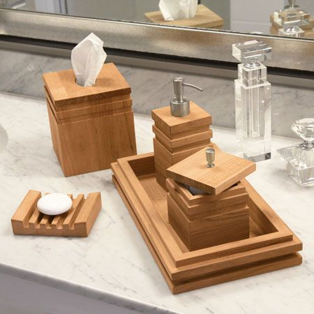 17 best ideas about spa bathroom themes on pinterest green bathroom decor spa bathroom decor - Bathroom accessories vanity tray ...