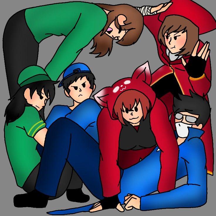 arsenal characteres 3 anime drawings