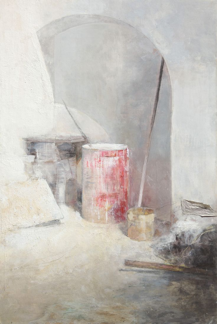 Carmen Laffón. La Cal. Bidon rojo. 2012