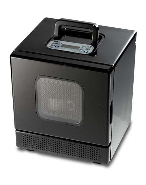 First Portable Microwave