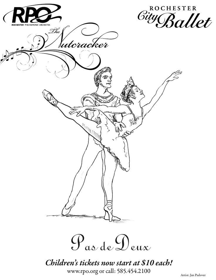 nutcracker ballet coloring pages online - photo#18