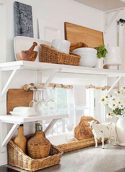 Natural and organic wicker home decoration ideas