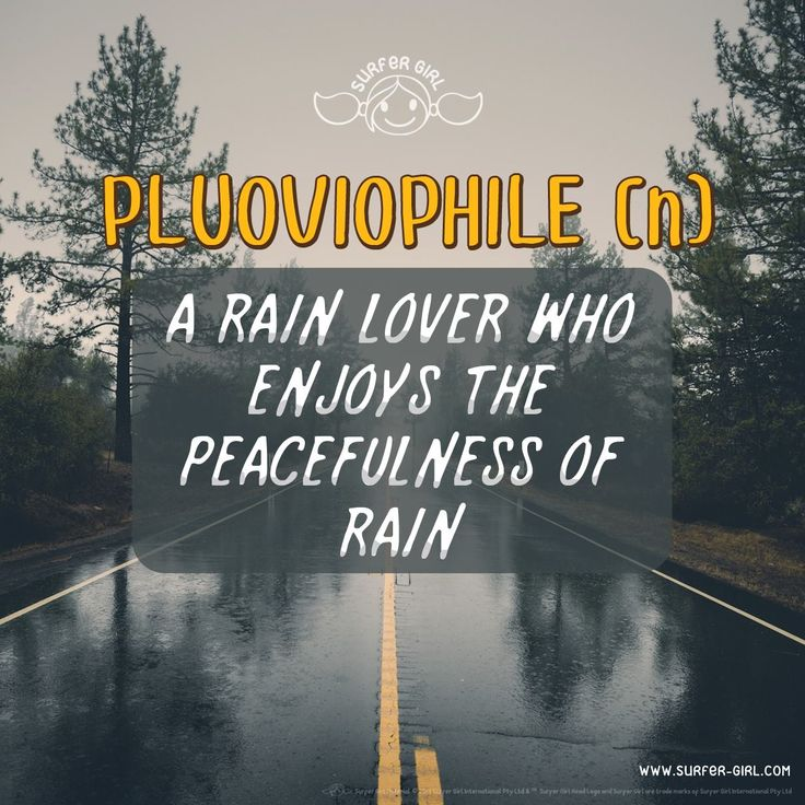 What do you Girls feel when it's raining outside? If you are a lover & an admirer of rainy days then you are a perfect example for our word of the day ^^ Love, Summer <3 #ilovesurfergirl #mylifemyway #rainquote #rain #rainyday