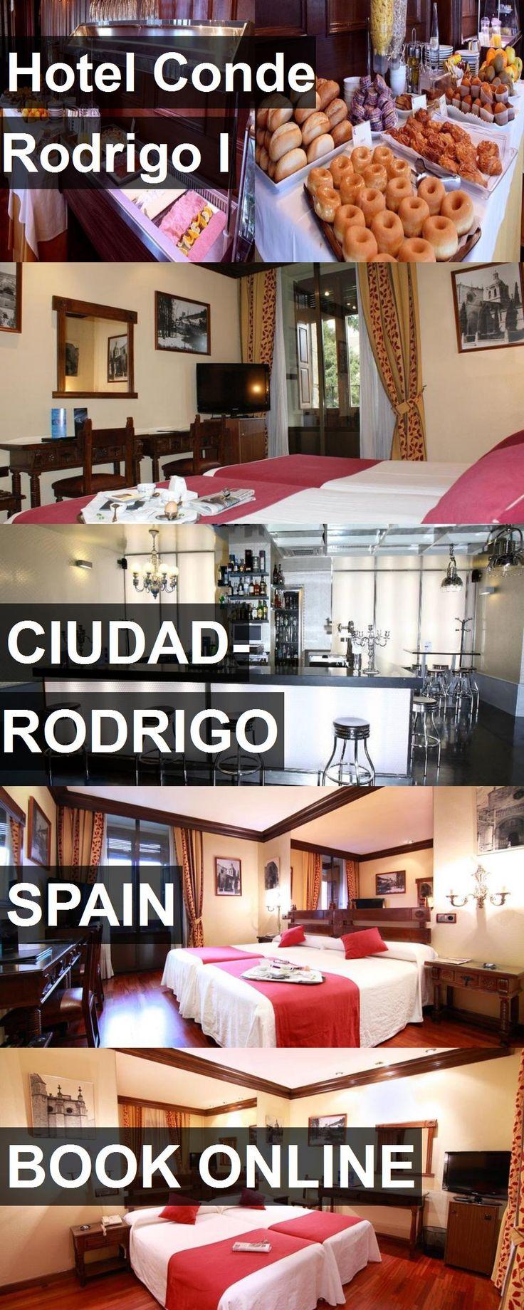Hotel Conde Rodrigo I in Ciudad-Rodrigo, Spain. For more information, photos, reviews and best prices please follow the link. #Spain #Ciudad-Rodrigo #travel #vacation #hotel