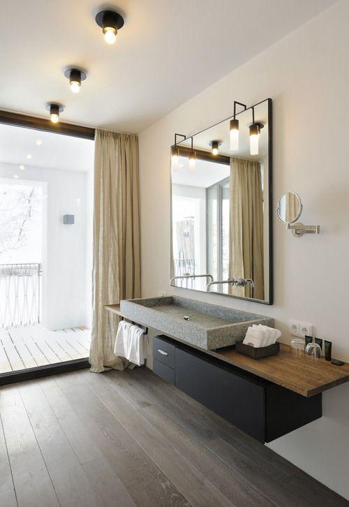 Para alguns, o paraíso está mais próximo de uma montanha nos alpes do que em uma praia tropical. Vendo essas imagens do Wiesergut Design Hotel em Hinterglemm, na Áustria, dá até para concordar com eles: http://goo.gl/cKcQZI