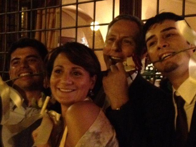 Fabio, Laura, Carlo e Fabietto. La bella e le bestie :-)