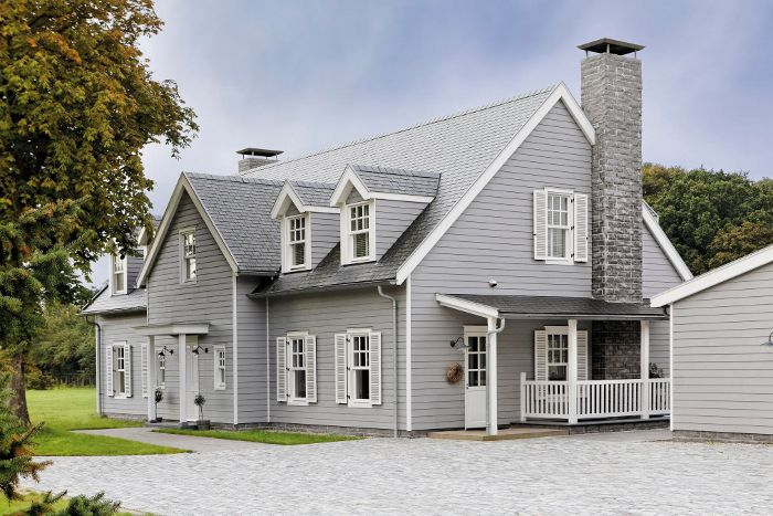 Cedral Weatherboard House Windows Pinterest House