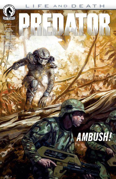 """Predator – Life and Death 2"" (2016) Cover di David Palumbo #DarkHorseComics #Predator"