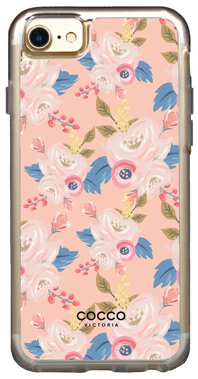 Peach Bouquet Vogue Case - iPhone 7/6S/6 - coccovictoria.com