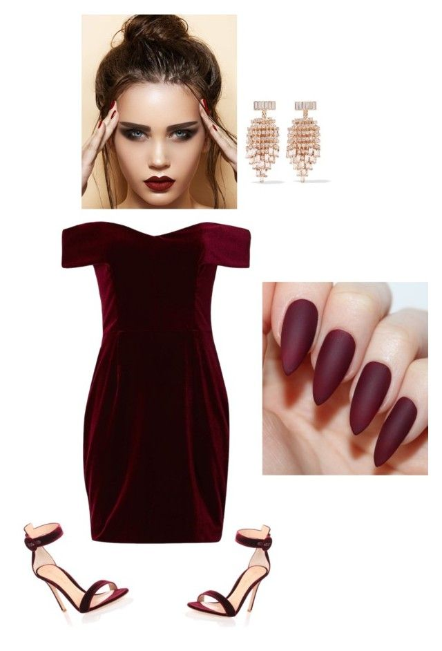 """""""Untitled #56"""" by fhk21 on Polyvore featuring Nicholas, Gianvito Rossi and Kenneth Jay Lane"""