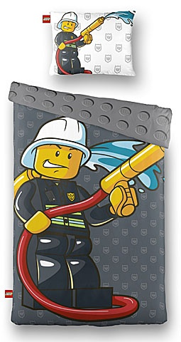 LEGO Dekbedovertrek City Brandweerman