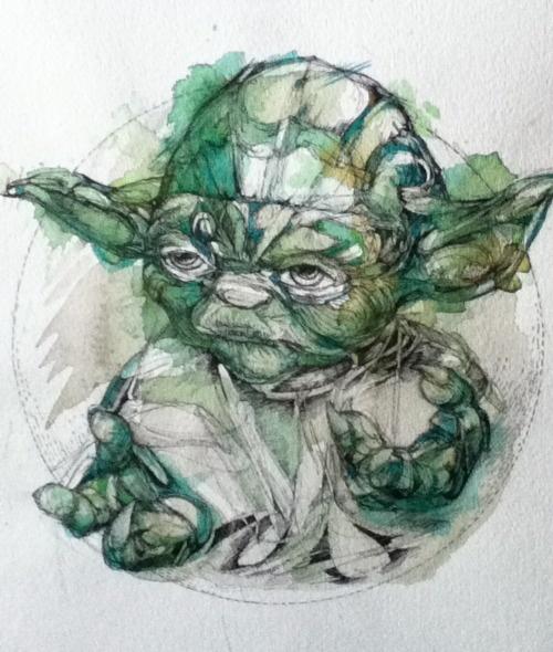 Yoda by Abby Diamond