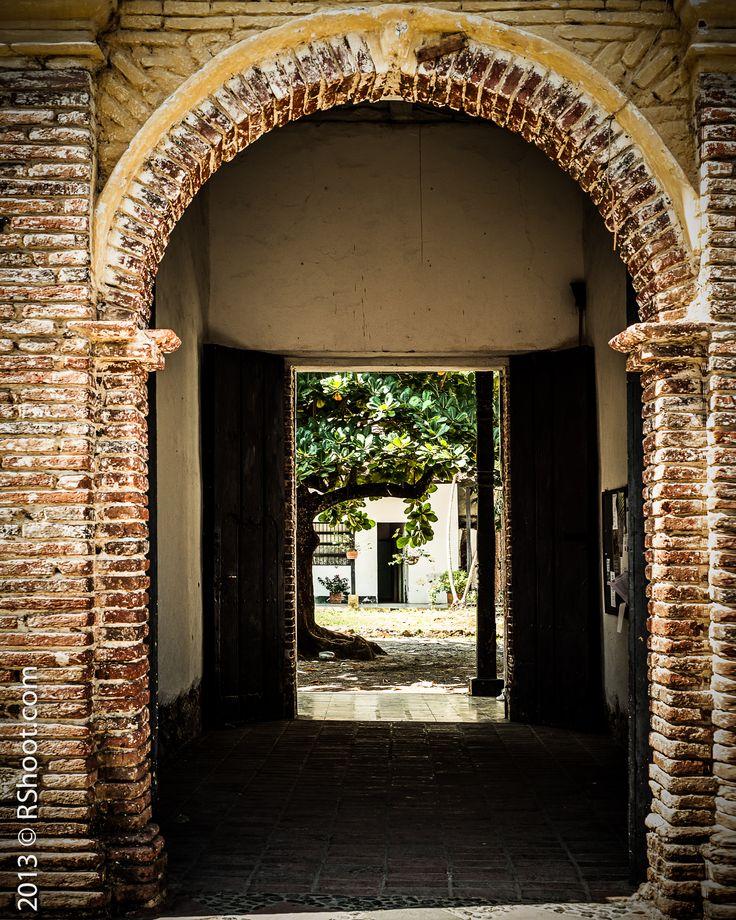 Beautiful Arch at Santafe de Antioquia, Colombia