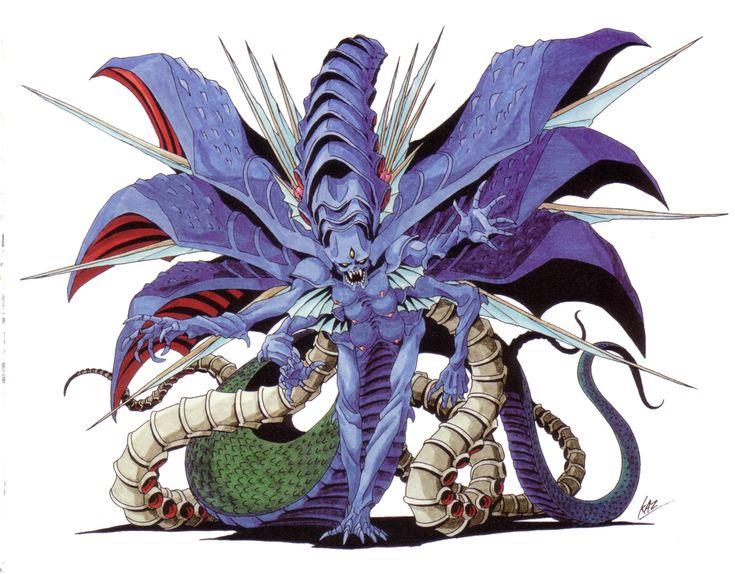 Satan from Shin Megami Tensei II