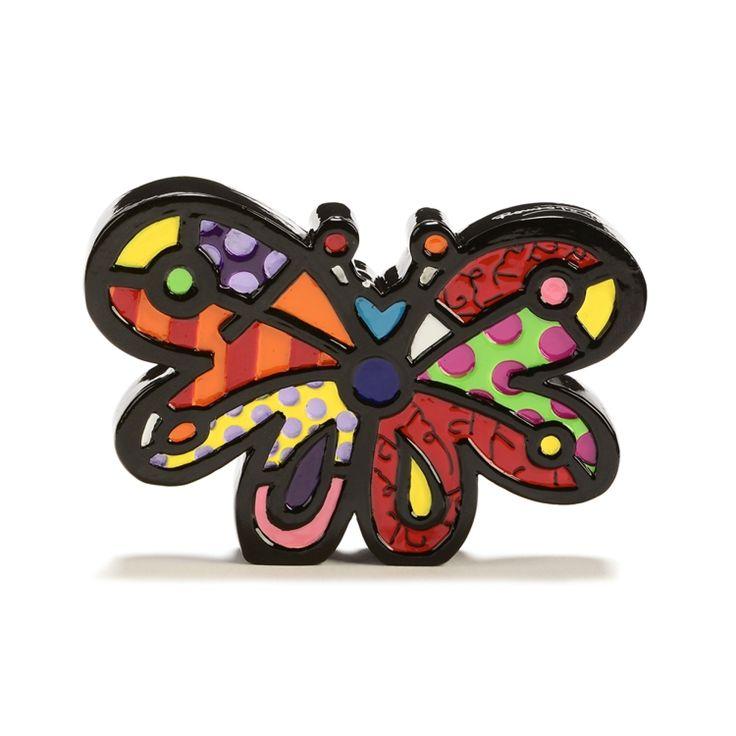 Mini Butterfly Figurine - Romeo Britto by General - ROMEO BRITTO  - COLLECTABLES