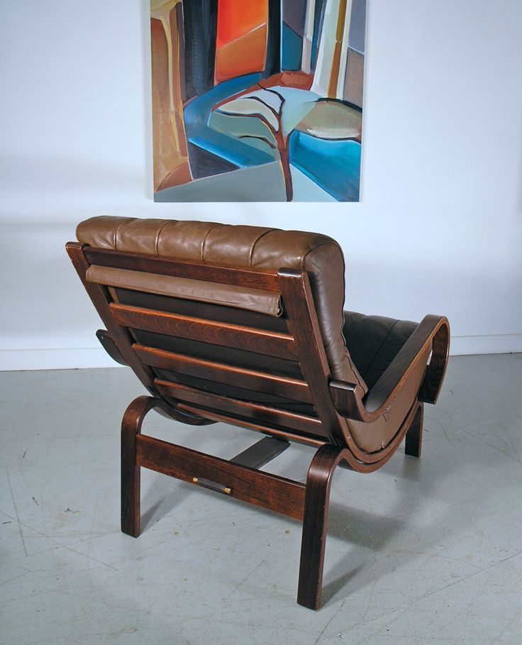 Westnofa Norwegian mid century leather lounge chair. Description from midcenturyhome.co.uk. I searched for this on bing.com/images