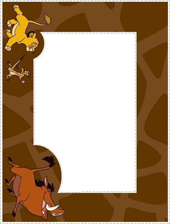 Disney Frames | ... frames print and preview more photo frames all photo frames the lion