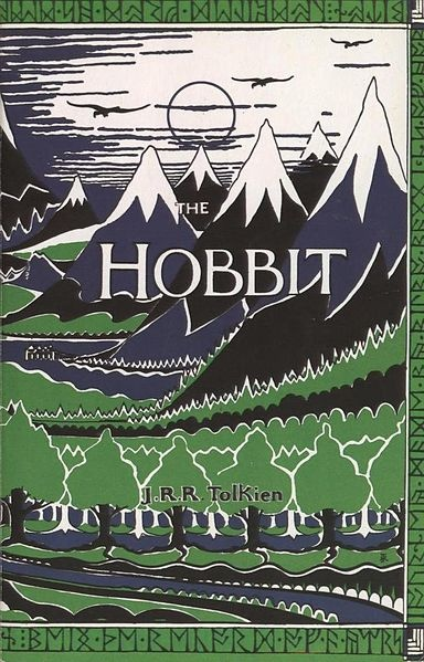 A cover scan of the Hobbit by JRR Tolkien. Published by Harper Collins.