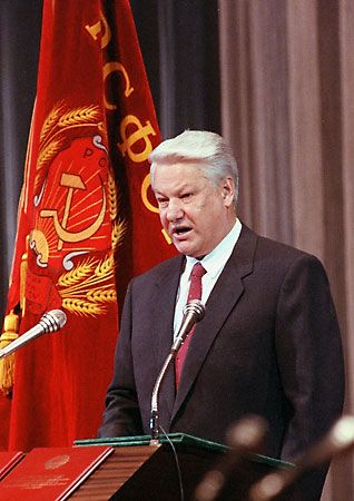 Boris Yeltsin:  February 1, 1931 Sverdlovsk [now Yekaterinburg], Russia, U.S.S.R. April 23, 2007 Moscow, Russia Russian politician, who became president of Russia in 1990. In 1991 he became the first popularly elected leader in the country's history, guiding Russia through a stormy decade of political and...