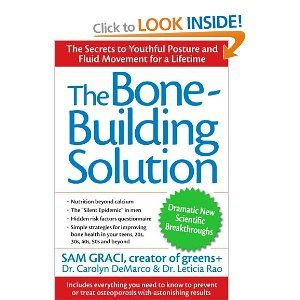 The Bone-Building Solution: Sam Graci, Leticia Rao, Carolyn DeMarco