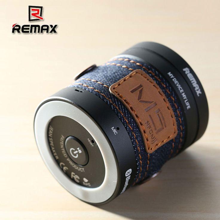REMAX Cowboy Style Music RM-M5 Bluetooth The Smart Portable Bluetooth SPEAKER w NFC Aluminum alloy M5 //Price: $2968.84     #PleaseForgiveMe