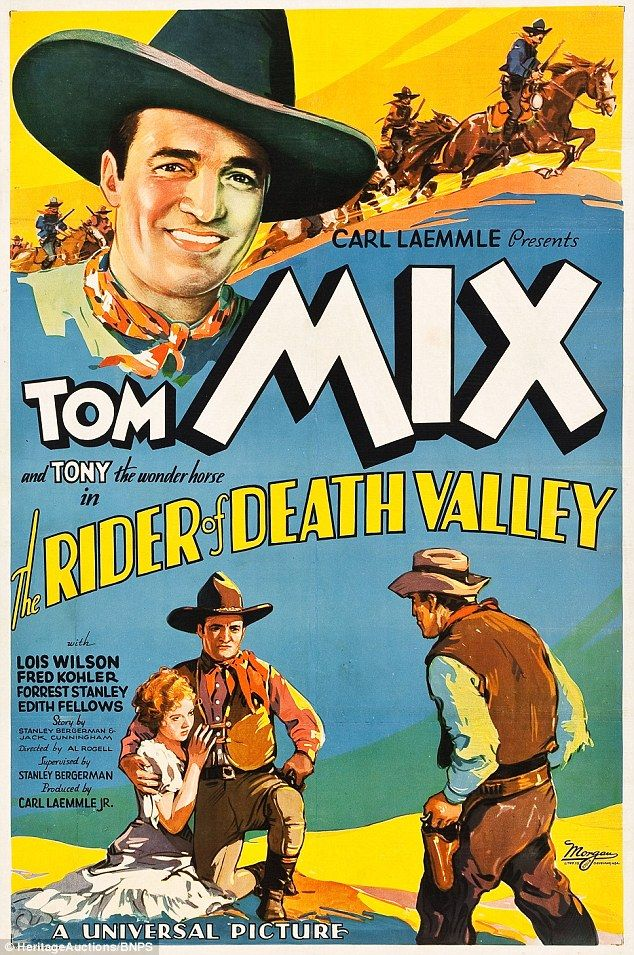 Western: Universal's A Rider of Death Valley, again from 1932, also featured in the treasure trove