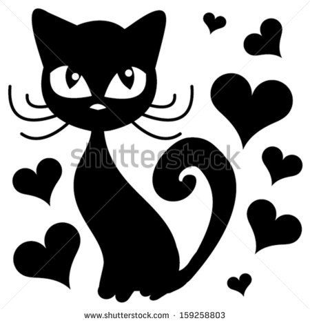 cat vector/T-shirt graphics/cute cartoon characters/cute graphics for kids/Book illustrations/textile graphic/graphic designs for kindergarten/cartoon character design/fashion graphic/cute wallpaper - stock vector